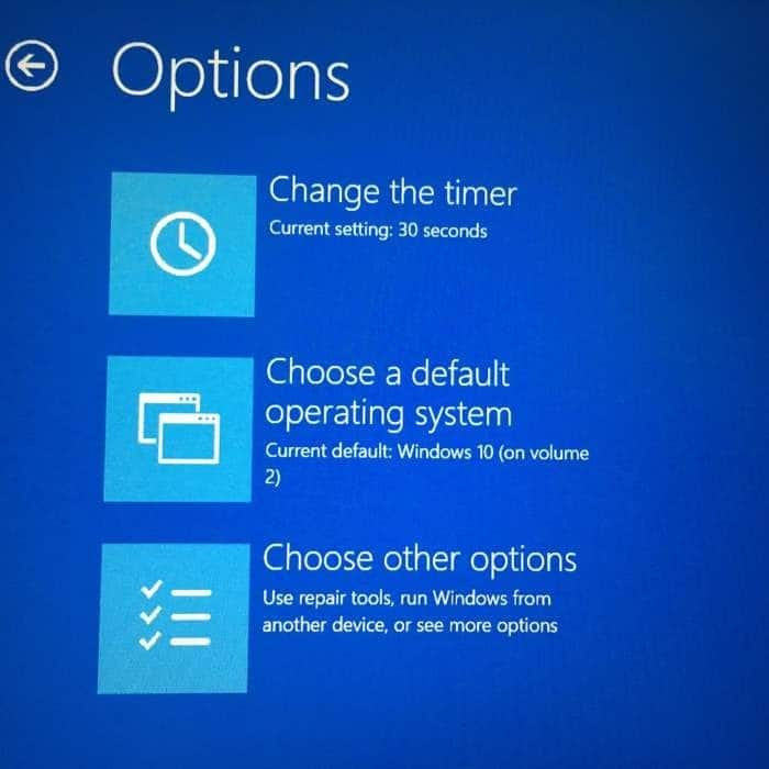 Change the default operating system Windows 10 pic1 (3)