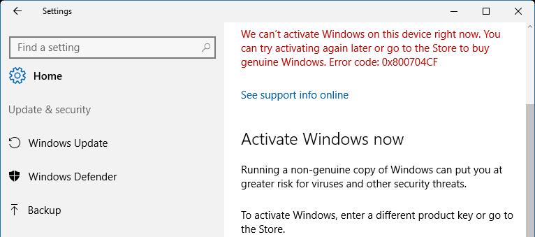 Fix Windows 10 Activation Error Using Troubleshooter