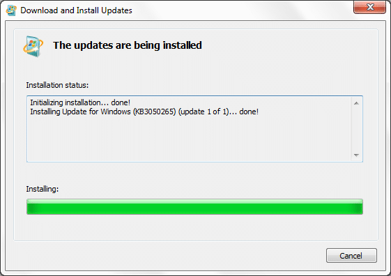 Stop upgrade to Windows 10