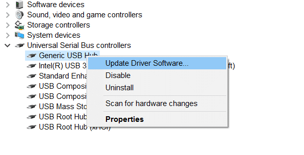 USB device not recognized in Windows 10 pic2