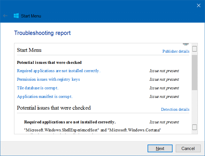 Windows 10 Start menu repair tool (3)