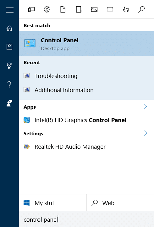 Windows update troubleshooter for Windows 10 pic1