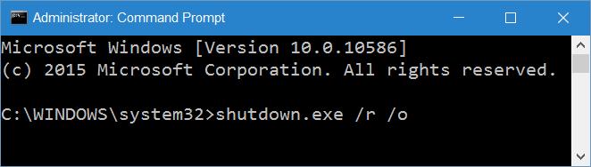 access UEFI settings from Windows 10 step10