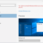 How To Change Windows 10 Wallpaper Without Activation