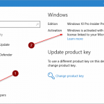 Link Windows 10 License While Using Local User Account