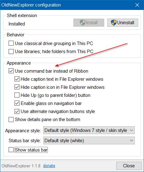 make Windows 10 File Explorer Look Like Windows 7 pic1.1