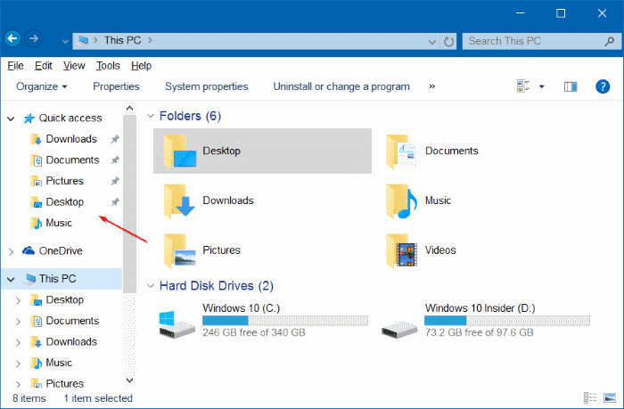 make Windows 10 File Explorer Look Like Windows 7 pic2