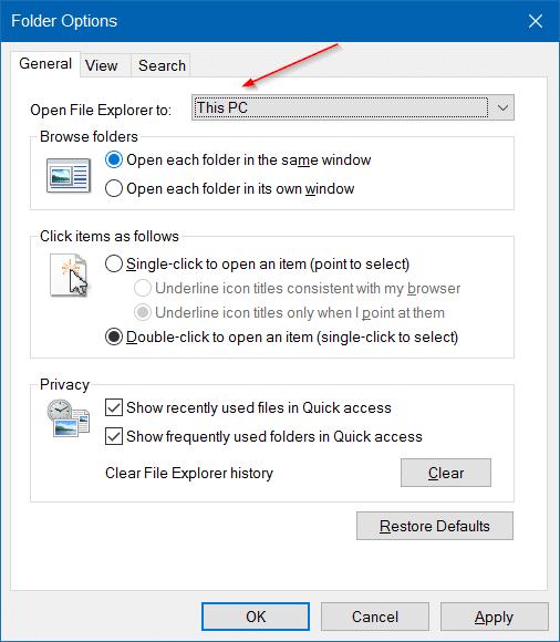 make Windows 10 File Explorer Look Like Windows 7 pic3