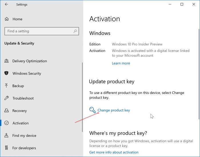 upgrade to Windows 10 Pro
