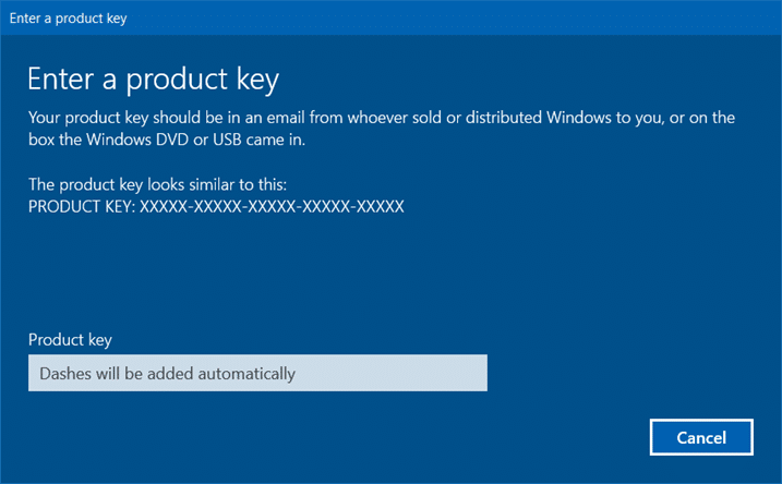 you cannot activate Windows 10 after july 29