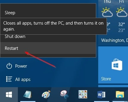 4 ways to open advanced startup options Windows 10 pic5