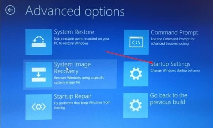 Boot Windows 10 in safe mode recovery drive (3)