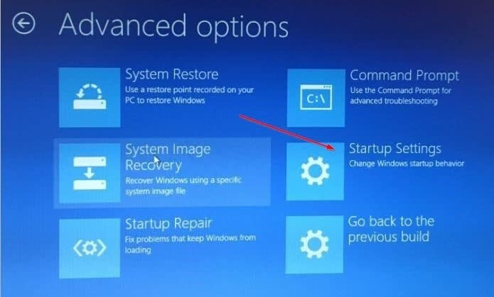 Boot Windows in safe mode when not booting step5