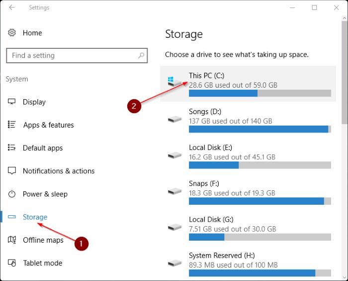 how to delete old user folder in windows 10