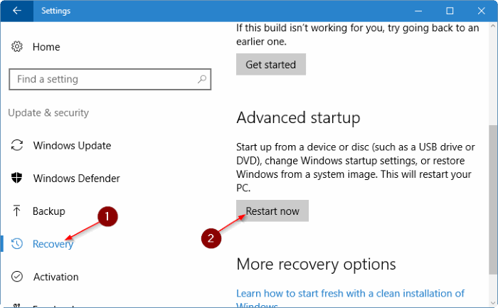 open safe mode in Windows 10 pic4