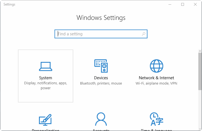 reset Windows 10 apps pic2