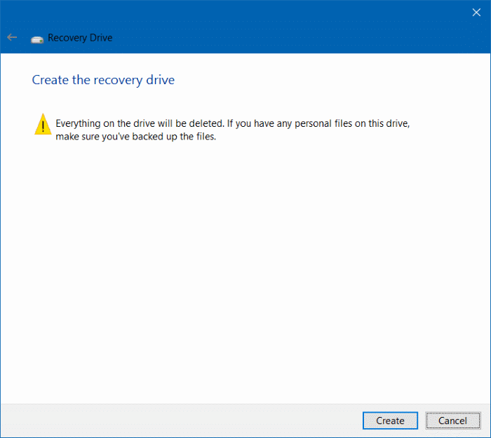 Delete recovery partition in Windows 10 step5