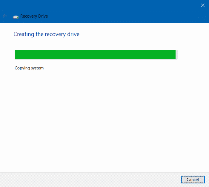 Delete recovery partition in Windows 10 step9