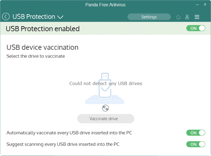 Panda Free antivirus for Windows 10 pic2