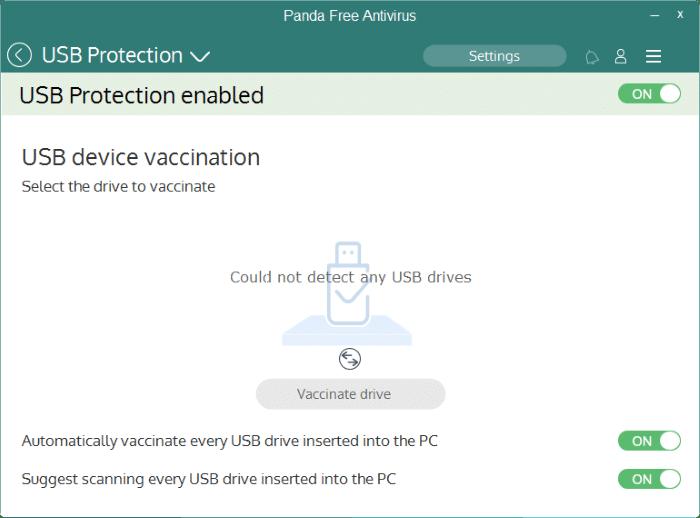 Panda Free antivirus for Windows 10 pic2