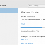Fix: Windows 10 Anniversary Update (1607) Not Showing Up