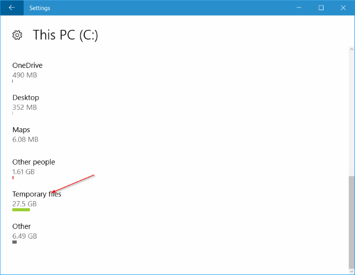 free up disk space after Windows 10 anniversary update pic2