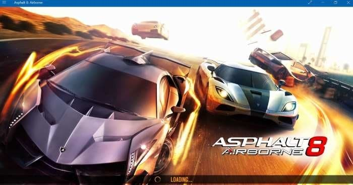 reset asphalt 8 airborne  Windows 10