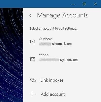 How To Update Or Change Email Password In Windows 10 Mail
