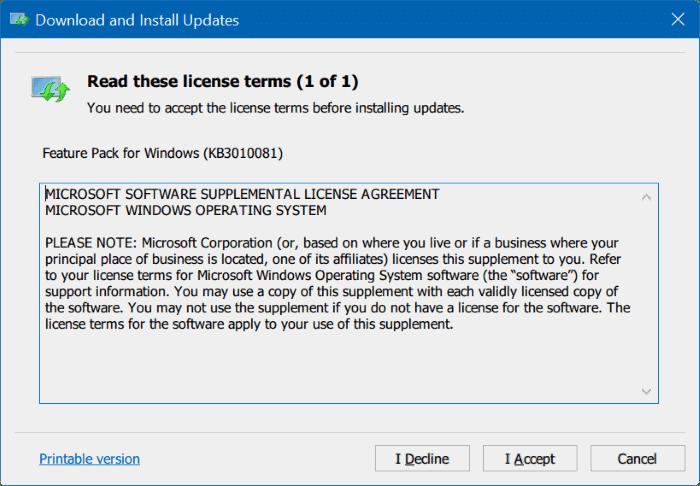 Windows Media Player for Windows 10 pic1