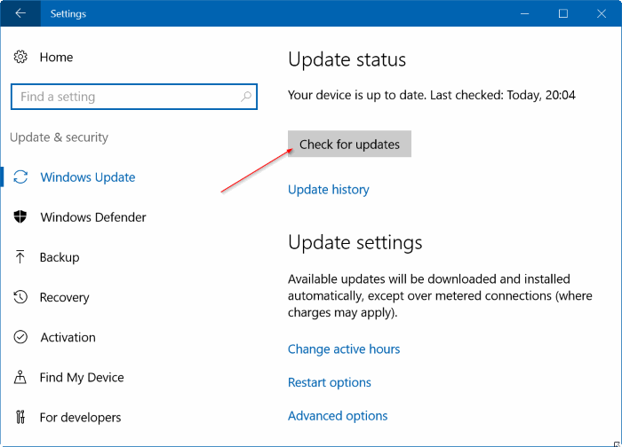 Windows Update stuck downloading updates Windows 10 pic8