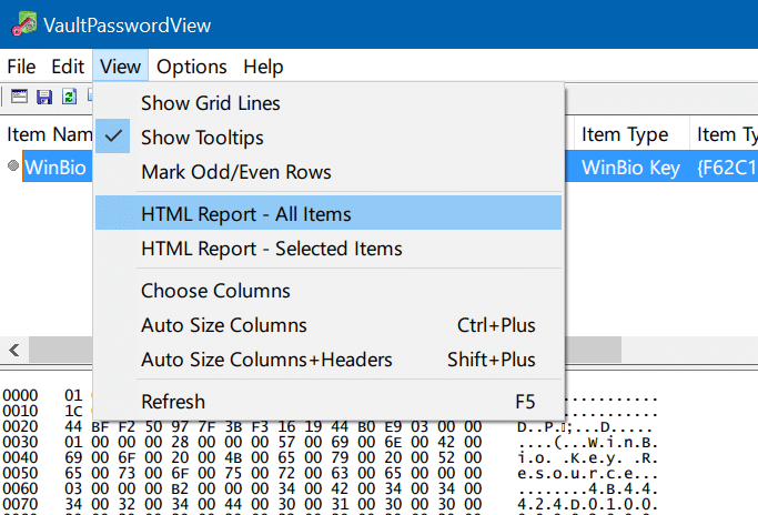 backup or export passwords from Edge in Windows 10 pic3