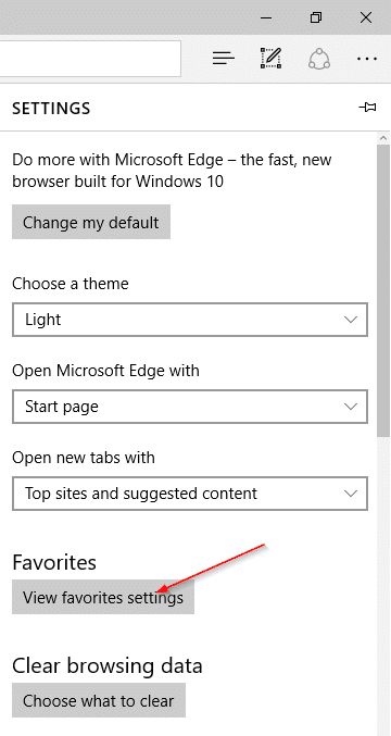 export Edge favorites bookmarks to Chrome and Firefox step2