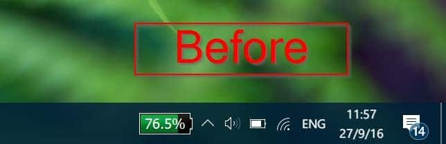 Move Date & Clock To The End Of Taskbar In Windows 10