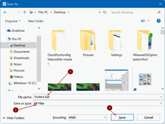 open multiple folders at once in Windows 10 pic3