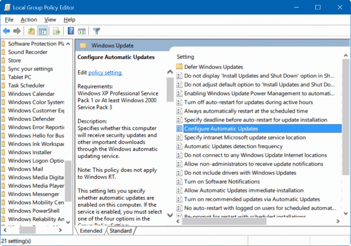 oppdateringer windows 8