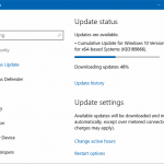 How To Pause Windows Update Download In Windows 10
