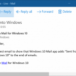 How To Remove The 'Sent From Mail For Windows 10' Text