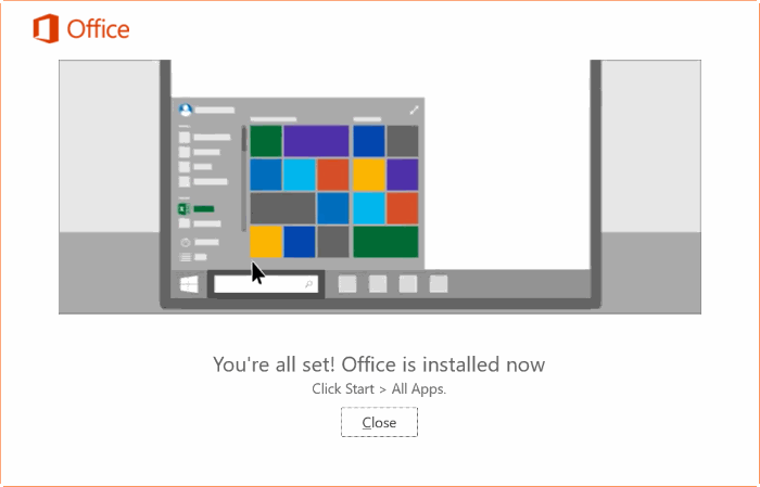 repair Office 365 install on Windows 10 step12