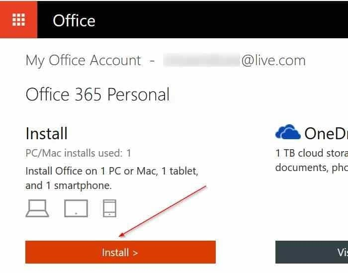 transfer Office 365 license to another PC step3