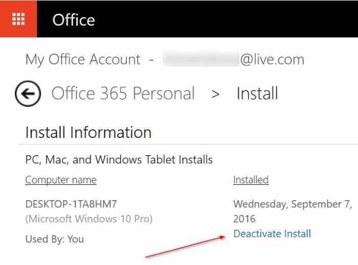Transfer office 365 license to new pc or another computer - Installer office 365 personnel ...