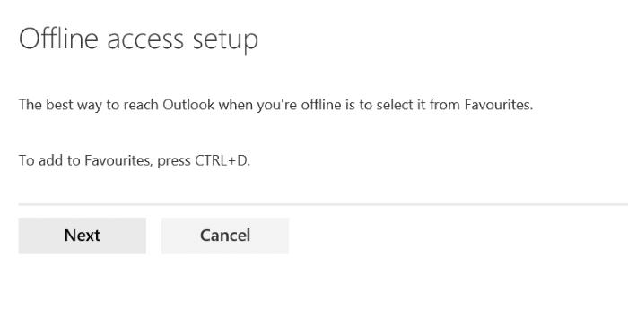 Sử dụng truy cập ngoại tuyến Outlook.com pic5