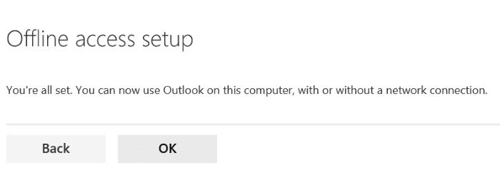 Sử dụng truy cập ngoại tuyến Outlook.com pic6