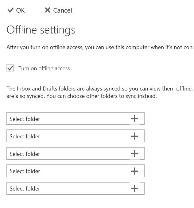 Sử dụng truy cập ngoại tuyến Outlook.com pic7