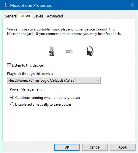 Sử dụng loa và tai nghe đồng thời trong Windows 10 step6