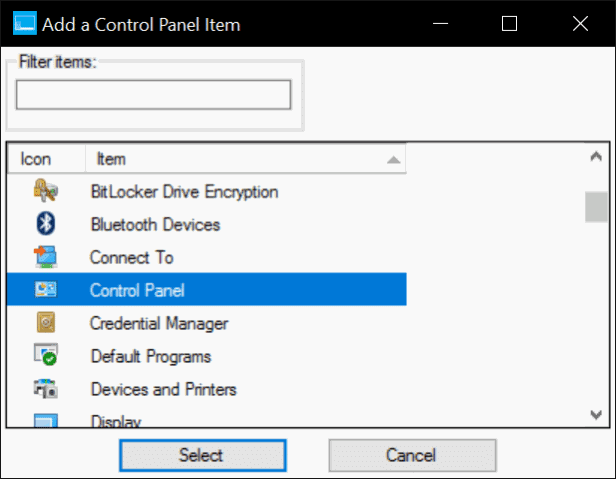 add Control Panel to Win X Menu in Windows 10 pic2