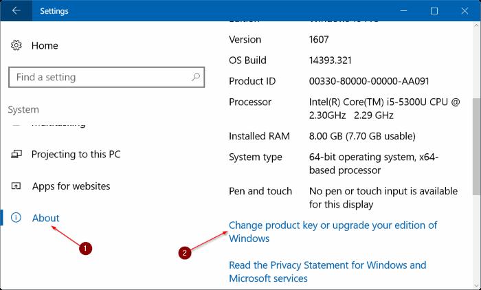 5 Ways To Change Windows 10 Product Key