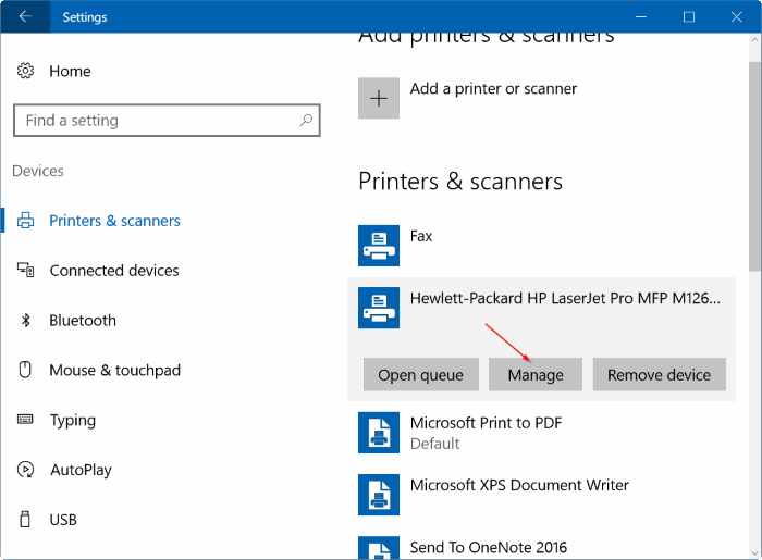 How To Change The Default Printer In Windows 10