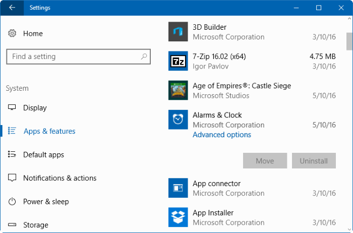 Remove Built-In Windows 10 Apps Without PowerShell Or Third-Party Tools