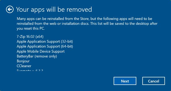 reset Windows 10 PC pic5