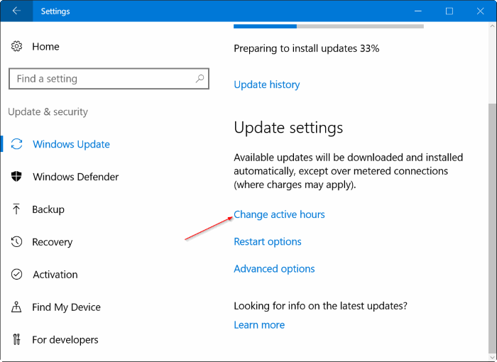 stop windows 10 from restarting to install updates pic3